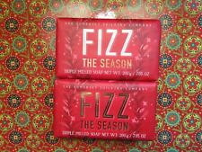 Lot of 2 The Somerset Toiletry Company Fizz The Season Soap