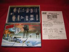 Vintage Star Wars 1982 Tsukuda AT-AT vs Snowspeeder ESB Japan Diecast Model Kit