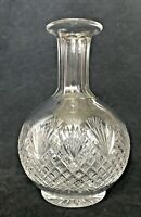 "American Brilliant Period ABP Water Decanter Cut Glass Crystal Vintage 8""x6"""