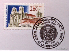 ABBAYE DE LA CHAISE   FRANCE  Yt 2825  OBLITERATION 1er JOUR NOTICE PHILATELIQUE