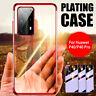 Für Huawei P40 P30 Pro Lite Hülle Handy Silikon Slim Case Cover Schutz Tasche
