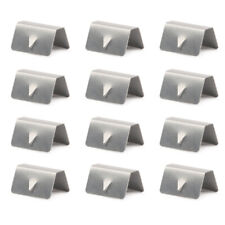 Channel Rain Wind Deflector CLIPS For HEKO SNED G3 Climair iSpeed Metal 8Pcs Hot