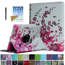 For iPad 6th 2018 / 5th 2017 Gen Rotating Case Cover Stand +Screen Protector/Pen