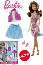 BARBIE CON VESTITI E ACCESSORI MATTEL DMM56 DMK55