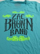 "Zac Brown Band ""Playing the Road"" Concert Tour (Girl's Xlg) T-Shirt"