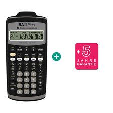 TI BA II Plus Taschenrechner + erweiterter Garantie