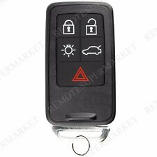 Replacement for Volvo 2010-2017 XC60 2008-2016 XC70 Remote Car Key Fob Entry