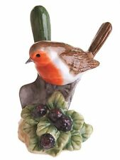 John Beswick Robin Wild Bird Adorno Estatuilla de cerámica 12 cm JBB19 Nuevo