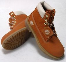 41766 * VINTAGE TIMBERLAND FIELD BOOT GREY WHITE YOUTH PS SZ 13-3