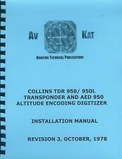 COLLINS TDR 950 / 950L TRANSPONDER INSTALLATION MANUAL