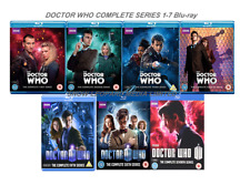 DOCTOR DR WHO COMPLETE SERIES 1-7 Blu-ray Season 1 2 3 4 5 6 7   UK Rel New R2
