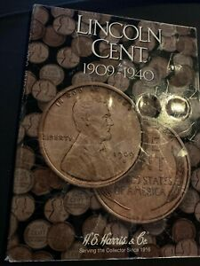 Set of 133 Lincoln Cents from 1910-73 Wheat & Memorial in two folders.