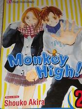 Shojo Beat Manga Monkey High! Volume 2