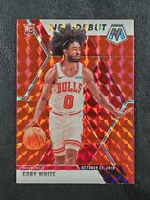 New Listing2019-20 Prizm Mosaic #264 Coby White Nba Debut Rookie Rc Red Mosaic! 🔥Mf