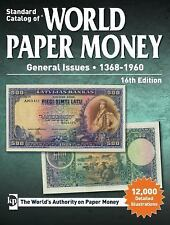 Standard Catalog of World Paper Money GENERAL ISSUES 1368-1960 *NEW & FREE SHIP