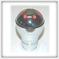 Manual Shift Knob  Shiftknob SILVER RED LED LIGHT  1370
