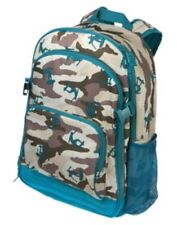 GYMBOREE CAMOUFLAGE SURF BACKPACK w/ clips NWT