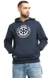 "Sibir Novosibirsk ""Casual"" KHL sweatshirt hoodie with pocket, blue"