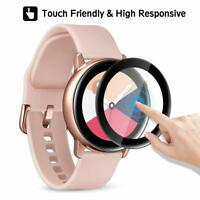 For Samsung Galaxy Watch Active 2 40/44mm Screen Protector Hydrogel Film Cover