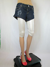 Silvian Royale Heach Womens Custom Distress Hot Pants Jeans Shorts sz XL AQ92