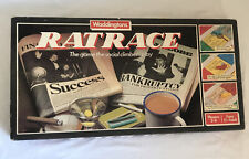 VINTAGE WADDINGTONS RATRACE 100% COMPLETE VGC RARE WITH RAT PLAYING PIECES 1984