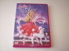 "DVD "" BARBIE LA MAGIE DE LA MODE "" MATTEL 2010 TRES BON ETAT"