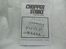 CHOPPER STRIKE GAME RULES(1976 MB game)