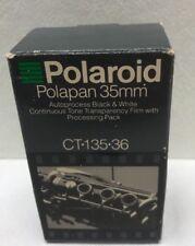 Polaroid PolaPan 35mm Instant Black and White Slide Film CT-135-36 ISO 125/22