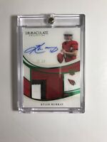 2019 Panini Immaculate Emerald FOTL RPA Kyler Murray Auto Patch 11/14