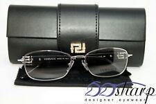 Versace Eyeglasses-Versace 1226-B 1000 52 Silver