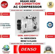 DENSO New Air Condition AC COMPRESSORE OEM: A0012304111 per MERCEDES BENZ CLASSE S