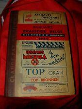 annuaire de la brasserie Belge  de 1944