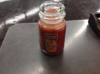 YANKEE CANDLE HONEY CLEMENTINE 22 OZ JAR CANDLE