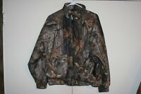 Woolrich Outdoor Guide VTG Woodland Realtree Camo Jacket Zip Men Medium Hunting