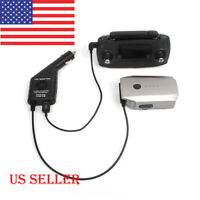 US 2 in1 Car Charger Battery Remote Control for DJI MAVIC PRO Drone Parts