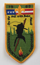 Boy Scouts BSA 1989 Ramapo Mountains District Boden Powell Fall Camporee Patch