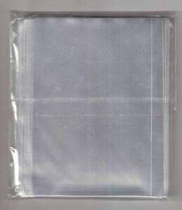 100 Bustine Buste per cartoline formato grande cm 10.5x15