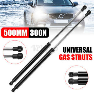 "Left Right 19.68"" 500mm 300N Universal Car Gas Struts Spring Kit Conversion"