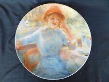 Pierre Auguste Renoir Collector Plate La Grenouillère