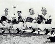 1961 AP Wire Photo Cleveland Indians catchers Romano Lawrence Holdener Jones