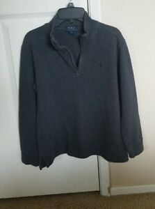 POLO RALPH LAUREN M(10-12) Boys Gray Sweater