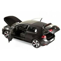 NOREV 188550 VW GOLF GTi diecast model road car black 2013 opening doors 1:18th