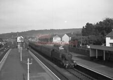 PHOTO  GWR LOCO  4152 AT CAERPHILLY RAILWAY STATION 12TH MAY 1956