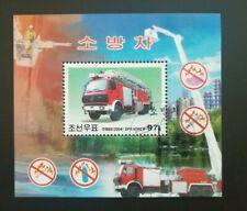 Korea 2004 Feuerwehrfahrzeuge Block 598 o/Used/Gestempelt