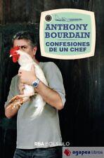 Confesiones de un chef (bolsillo). NUEVO. ENVÍO URGENTE (Librería Agapea)