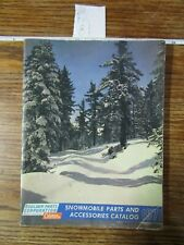 1971 Coleman Snowmobile Parts & Accessories Catalog used/acceptable