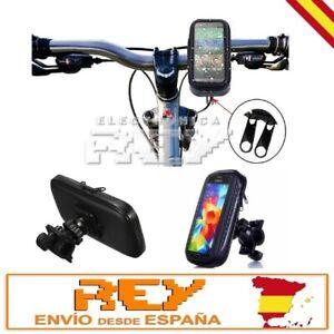 Funda Impermeable Movil Bicicleta Moto Soporte Protector Bolsa Mediano d88/d01