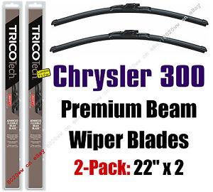 Wipers 2-Pack Premium Beam Wiper Blades - fit 2005-2010 Chrysler 300 - 19220x2