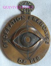 MED5057 - MEDAILLE FEDERATION FRANÇAISE DE TIR 1973 ESPERANCE DE FRANCE SUDOUEST