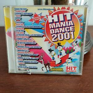 Hit Mania Dance 2001 CD 2000 Hit Mania – 002/2 DJ Mix – Mauro Miclini EX